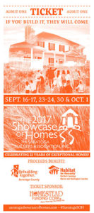 2017 Showcase of Homes ticket