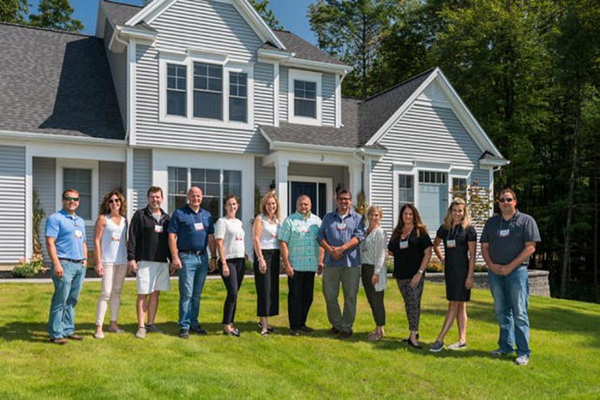 2017 Showcase of Homes judges panel