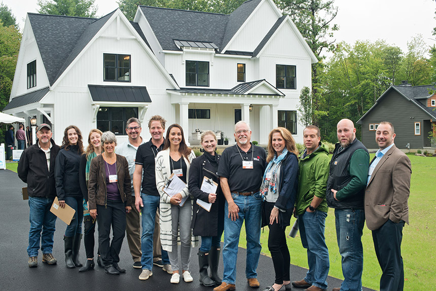 2018 Showcase of Homes judges panel