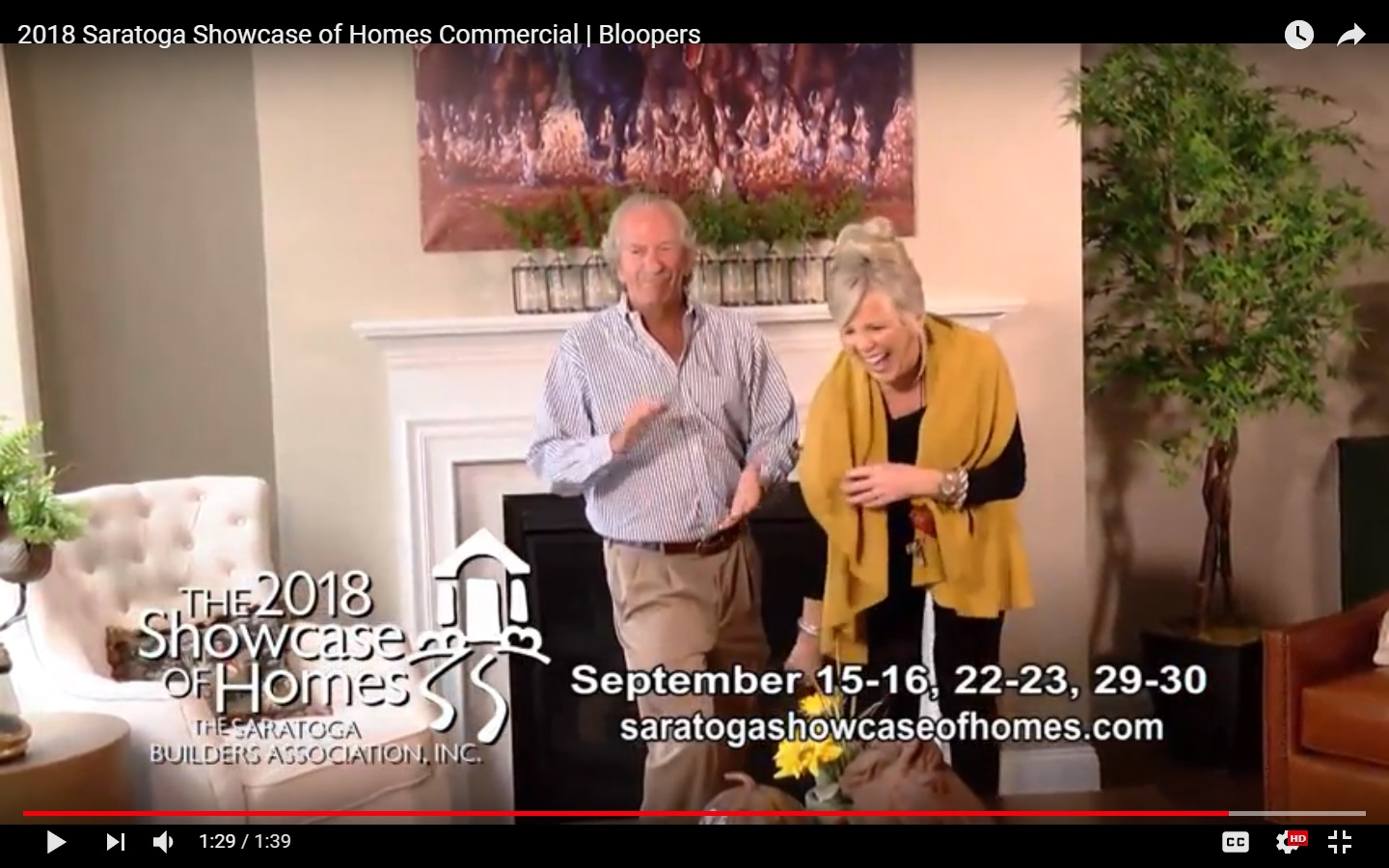 2018 Showcase of Homes blooper reel, featuring Liz Bishop and Barry Potoker