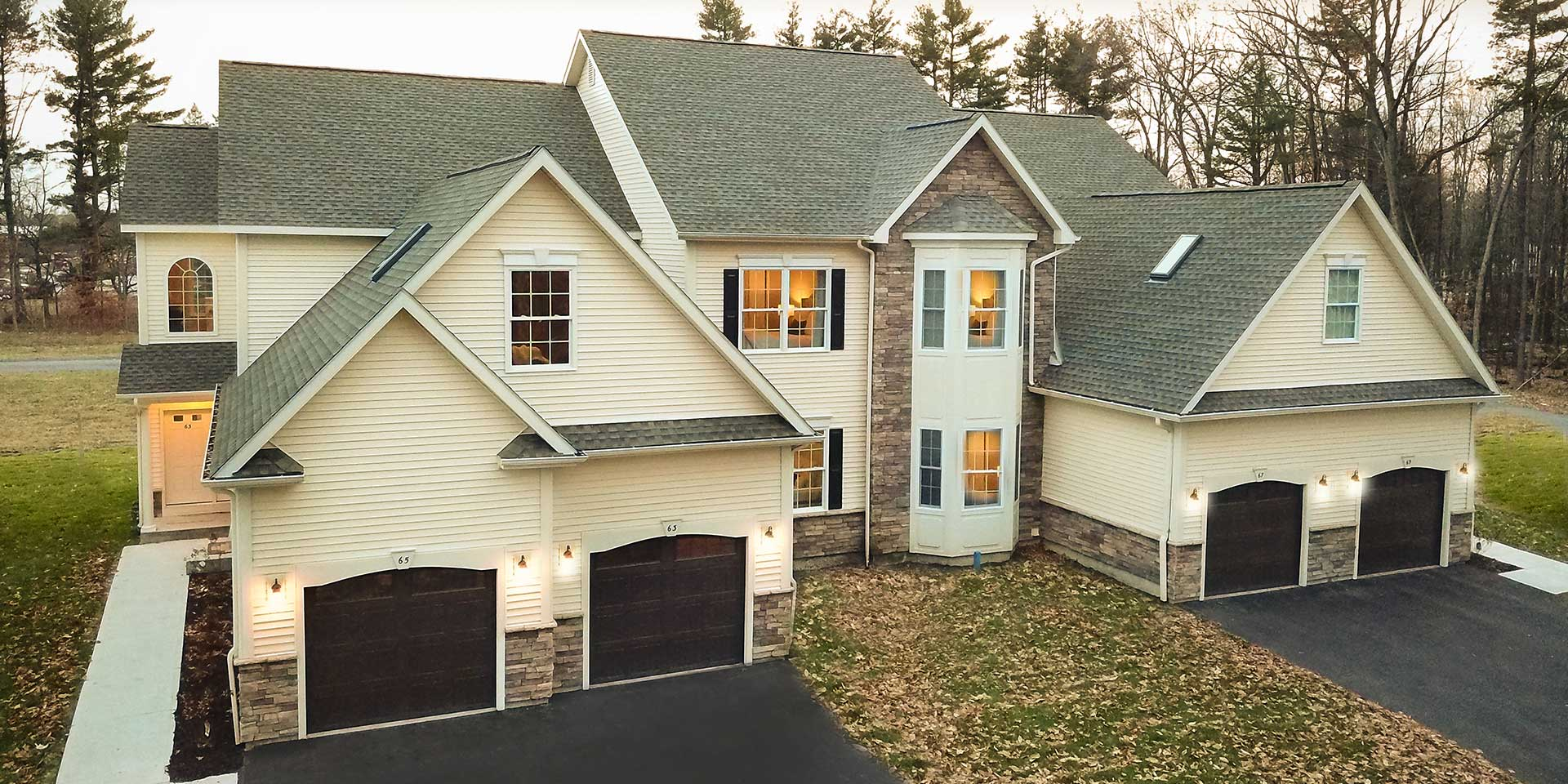 2019 Showcase home #1 by BDC Group: a condo located at 53 Cornerstone Drive in Ballston Spa, NY